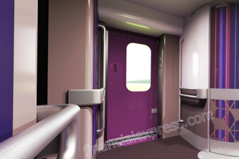 Yet another interesting feature of Train 18 would be its automatic doors and footsteps! Yes, you read it right, the automatic doors will come with the facility of a sliding footstep that will open when once the train arrives at the platform.