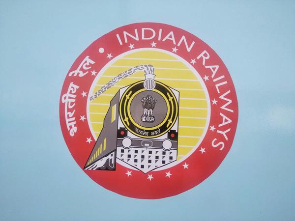 Logo of Indian railways.