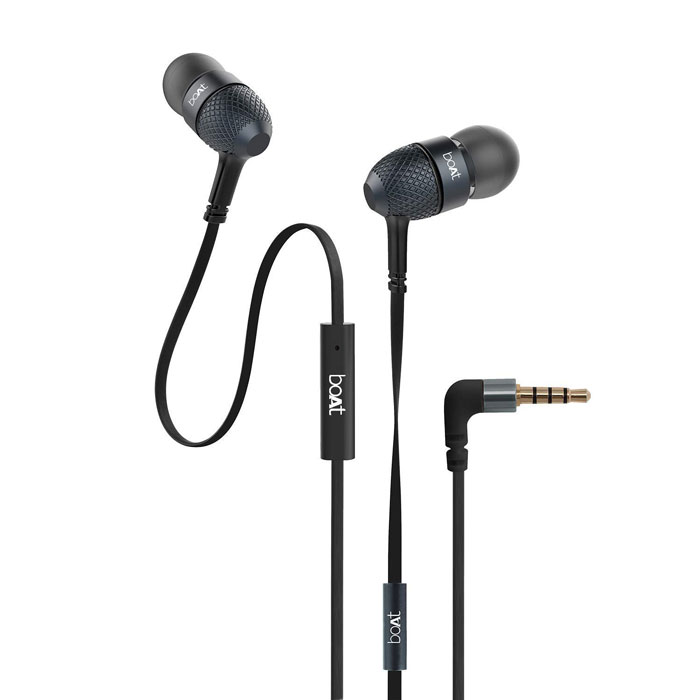 7. boAt BassHeads 225 in-Ear Super Extra Bass Headphones
