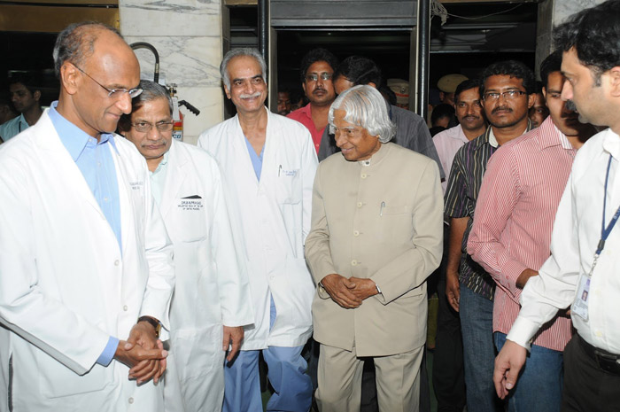 7. Dr. Kalam and Dr. Soma Raju, came up with a rugged tablet computer in 2012 to take care of the health of underprivileged people in rural India.