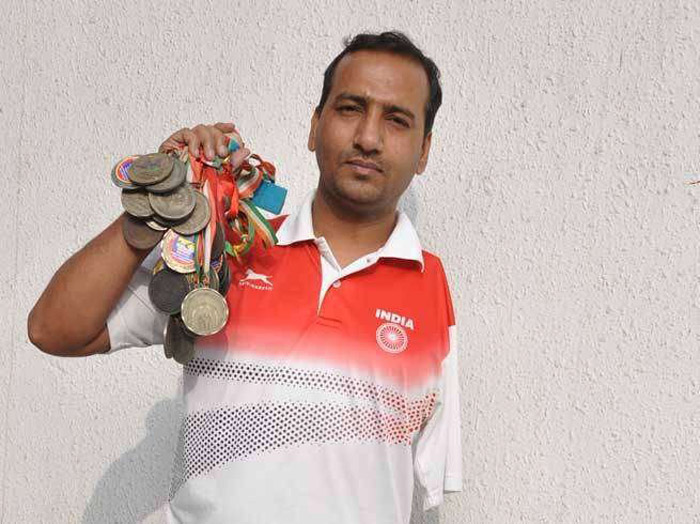 7. Bharat Kumar was born with just one hand, and went on to win over 50 medals in para-swimming contest.