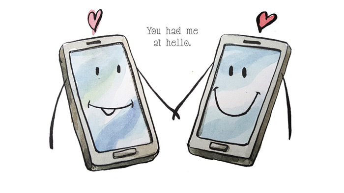 """You had me at hello."""