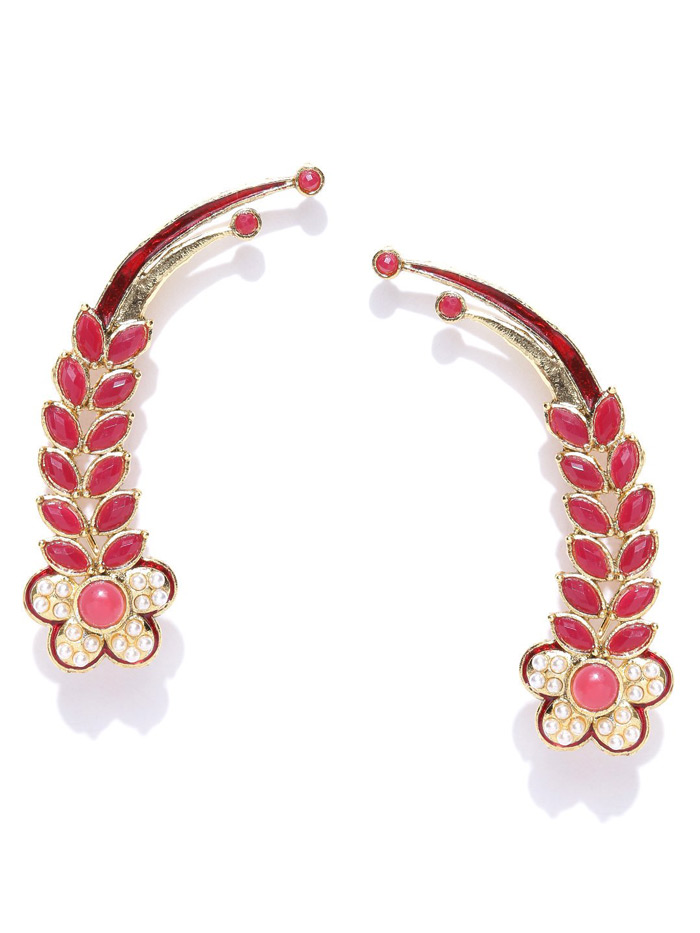 7. Wear ear cuffs for an edgy look.
