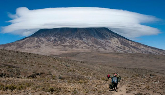 "Mount Kilimanjaro Most famous for being in the ""Africa"" song by Toto, mount Kilimanjaro stands 5900 meters tall and is the biggest mountain on the African continent."